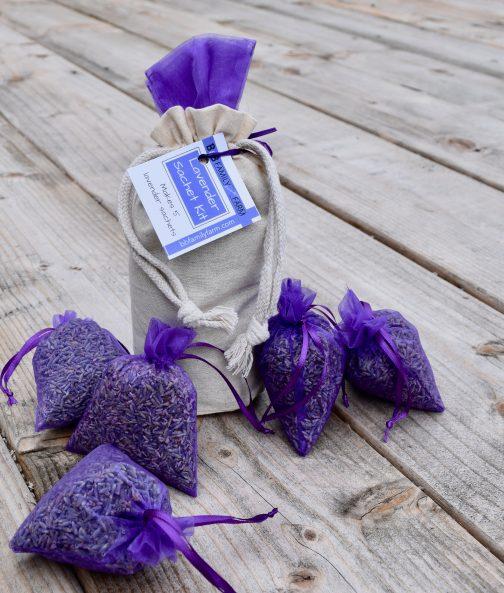 lavender sachet kit