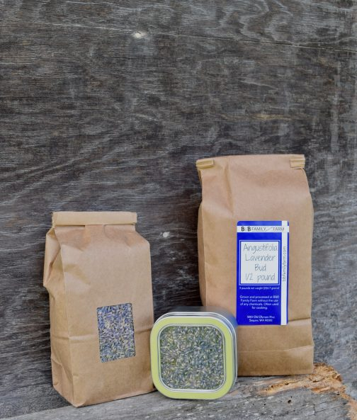 Lavender bud angustifolia packages
