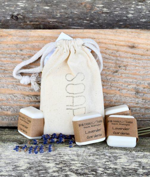 Lavender gardenia soap bars