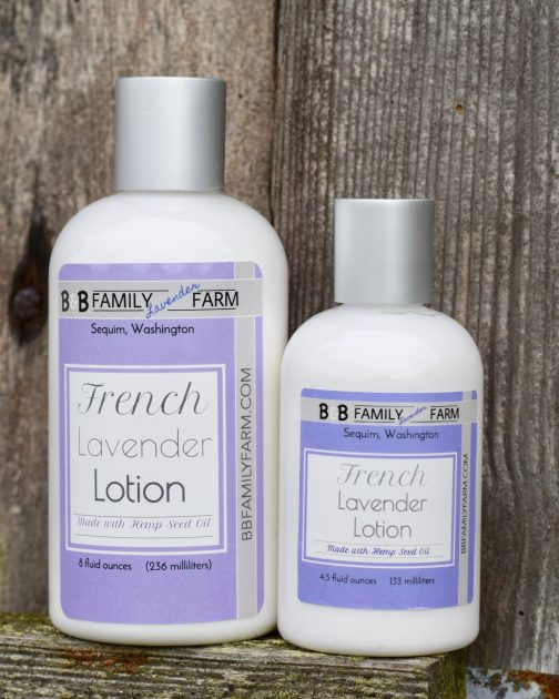 lavender lotion French