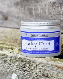 lavender funky feet