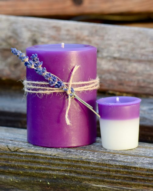 lavender woods candles