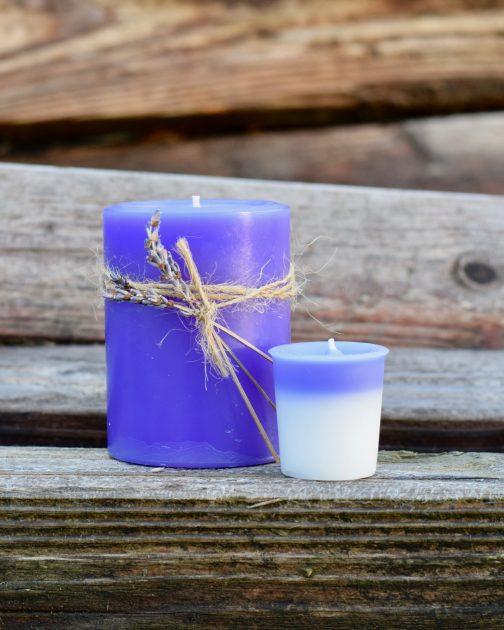 lavender lemon candles