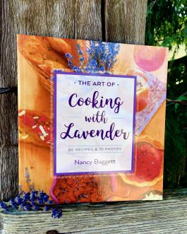 cooking with lavender book