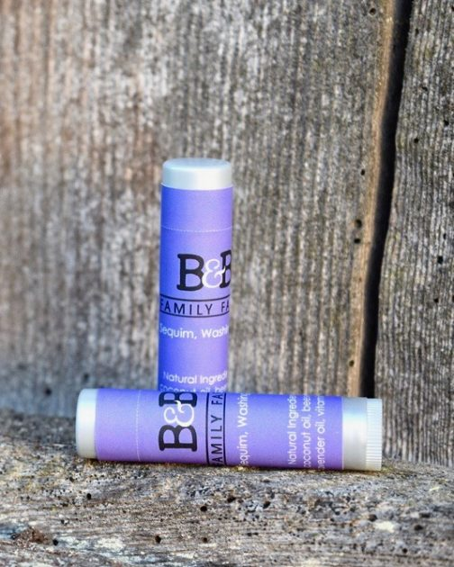 Lavender Lip Lube Tube