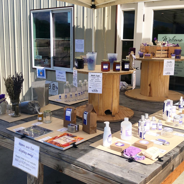 Outdoor Lavender Shop