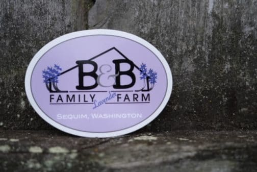 B&B Family Farm Sticker